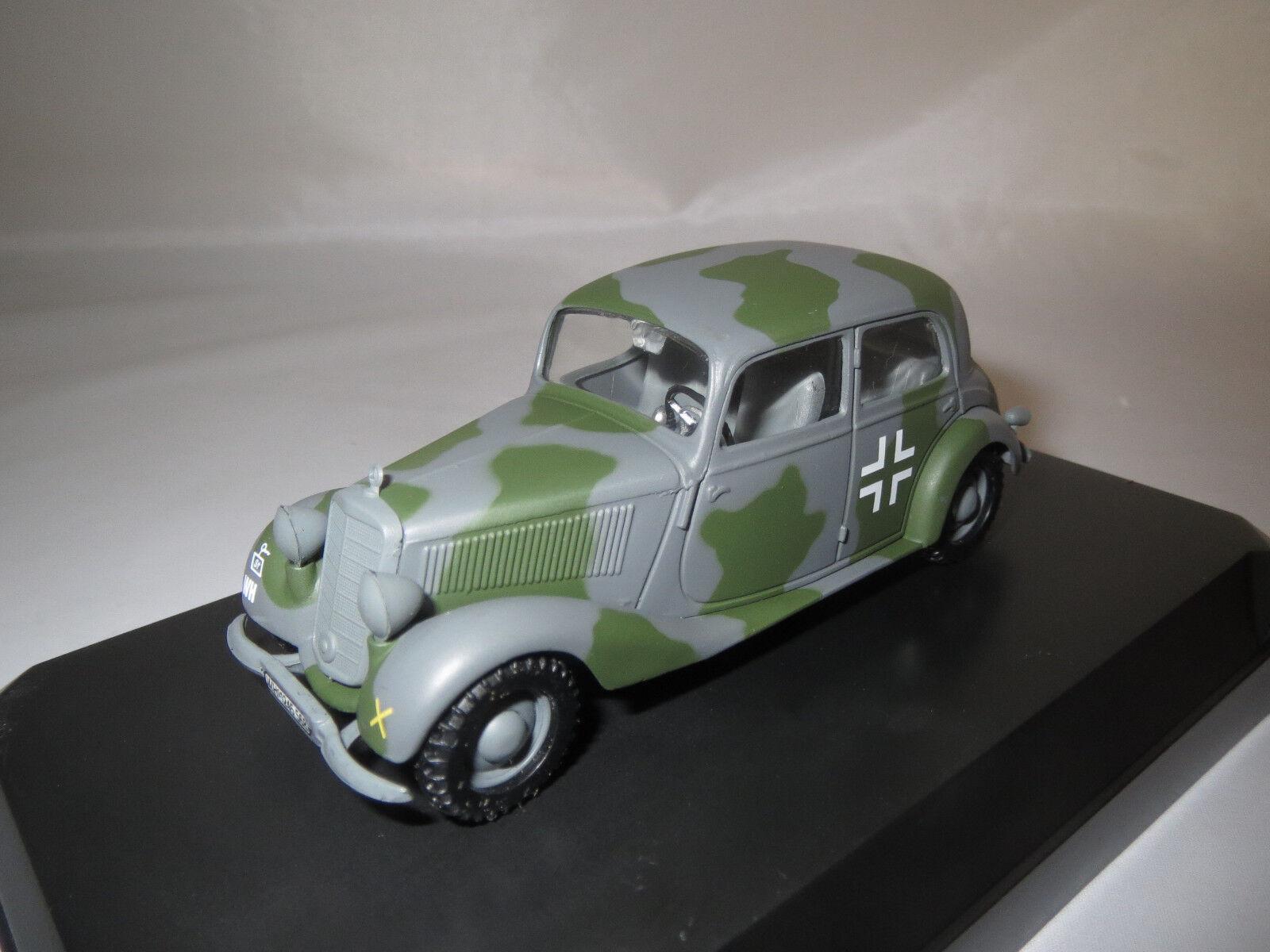 Victoria  R029  Mercedes 170V Wehrmacht With Camouflage 1 43 OVP    Mittlere Kosten