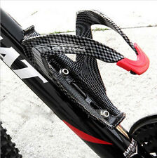 OFF-Road Mountain Bike bicycle Cycling Carbon fiber Water Bottles Holder Cage TS