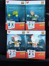 Disney Parks Pixar Toy Story Windup WOODY, JESSIE, BUZZ & ALIEN - NEW SET