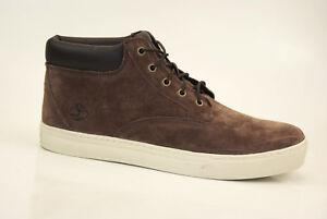 Timberland-Dauset-Chukka-Botas-Zapatillas-De-Hombre-Zapatos-cordones-a15zr