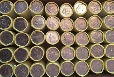 Bank Sealed Half Dollar Roll 1 Unsearched