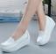 thumbnail 6 - Women Wedge Pumps Heel Work Flats Nurse Loafers Round Toe Oxfords Nursing Shoes