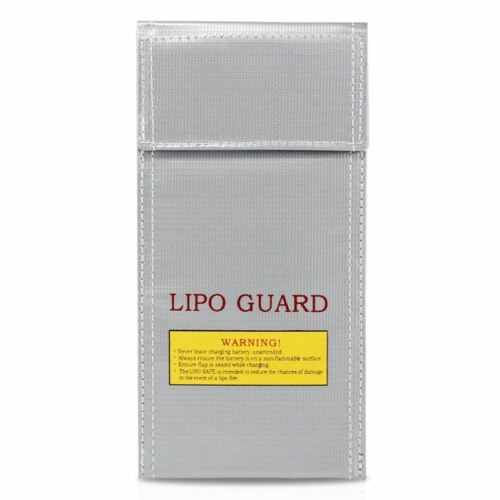 1 O3L2 LiPo Battery Guard Bag Fire Resistant Safety Protective Bag Charger Sack
