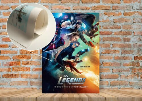 DC Legends of Tomorrow TV Show Poster or Canvas Art Print A3 A4 Sizes