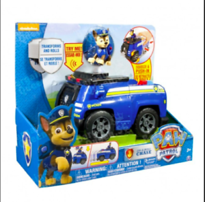 Paw Patrol On A Roll CHASE Deluxe Cruiser Police Car  w Sound NEW  Free US Ship