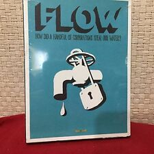 New In Package FLOW: For Love of Water DVD Free Shipping