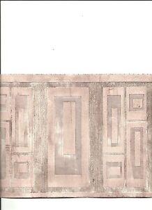 Grecian key textured paintable wallpaper border 94290 ebay for Paintable wallpaper home hardware