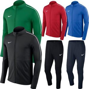 b6515486795a Nike Mens DRY PARK 18 Tracksuit Jacket Top or Bottoms Sports ...