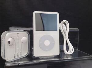 NEW-Apple-iPod-Classic-5th-Generation-White-Silver-60GB