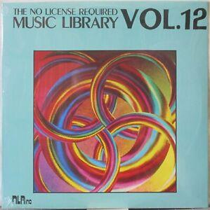 NO LICENSE REQUIRED MUSIC LIBRARY Fan Fare Vol. 12 LP Avant, Funk SEALED Copy