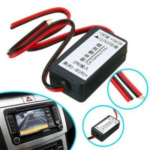 12V-DC-Power-Relay-Capacitor-Filter-Connector-Rectifier-for-Car-Rear-View-Camera