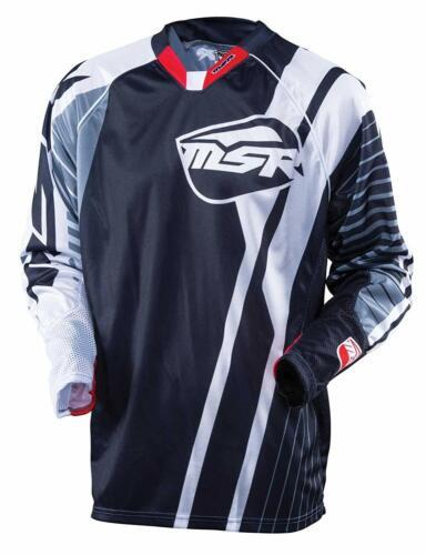 NEW MSR Racing M16 NXT Black//Gray Jersey motocross off road Suzuki Honda