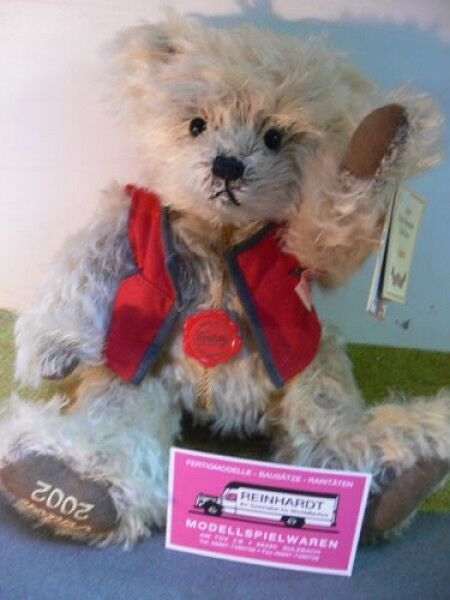 HB 19 Hermann Bamberg Teddy Anton circa 30 cm MADE IN GERMANY