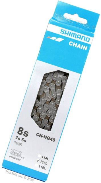Silver Shimano IG51 Steel Bicycle Chain 6//7//8 Speed Replace MTB Chain 116-link