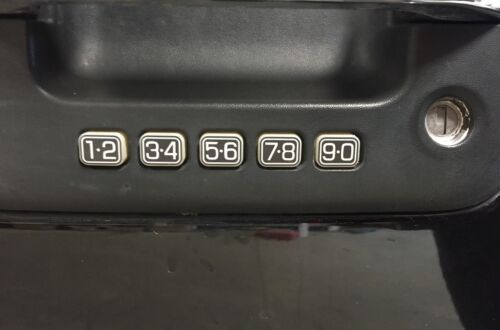 Ford//Mercury Fusion /& Milan KEYLESS ENTRY Door Keypad REPAIR Decal Worn Buttons