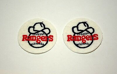 1970/'s TEXAS RANGERS EMBROIDERED PATCH VINTAGE BASEBALL