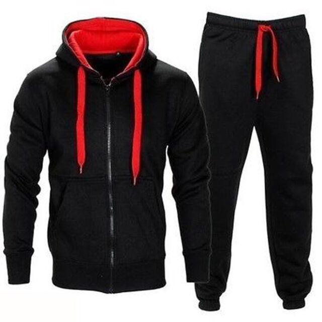 Juicy Trendz Mens Athletic Fleece Full Zip Hoodie Top Gym Tracksuit ... f019286d3