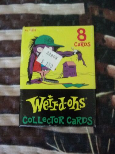 Details about  /  WEIRD-OHS RE-ISSUE PACK  BILL CAMPBELL ART CARDS 1 SEALED PACK-RAT FINK STYLE