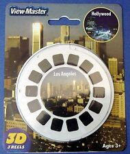 View-Master 3 reel packet NEW - Los Angeles & Hollywood California - 35339