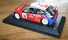Rarissime CITROEN XSARA SPORT MONTE CARLO TOTAL LOEB 2003 avec bruitage moteur