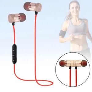 Caricamento dell immagine in corso Bluetooth-Auricolari-Cuffie-Magnetic- Stereo-Headset-Microfono-Per- 2e9e2e819f8b