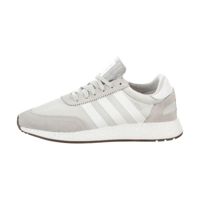 963b7d2af6eeca adidas I-5923 Mens B37924 Grey Cloud White Gum Boost Running Shoes ...