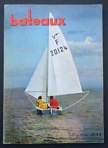 Revue-magazine-BATEAUX-n-98-juillet-1966-Concarneau-Semaine-de-La-Rochelle