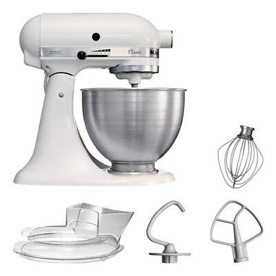 KitchenAid 5KSM45EWH Küchenmaschine 4,3L Factory Serviced Weiß