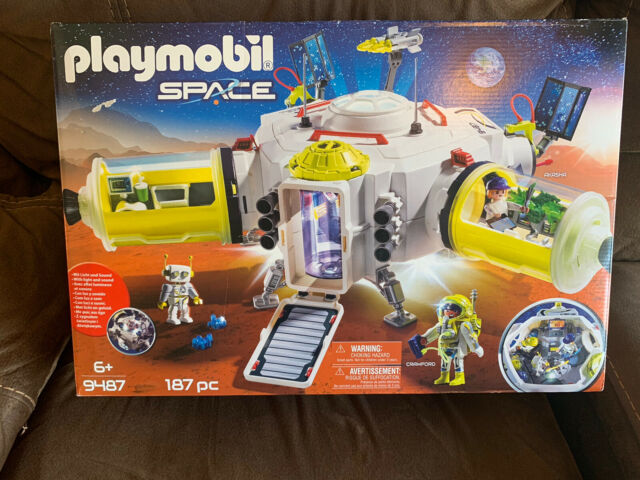 Playmobil #9487 Mars Space Station - New Factory Sealed