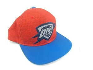 OKC-Snap-Back-Hat-Orange-Blue-NBA-Basketball-Oklahoma-City-Thunder