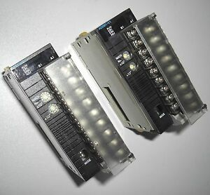 Omron-CJ1W-AD081-V1-A-D-unit-lot-of-2