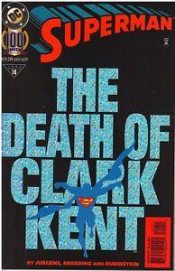 SUPERMAN: THE DEATH OF CLARK KENT - Dc Comics - albo originale USA in inglese