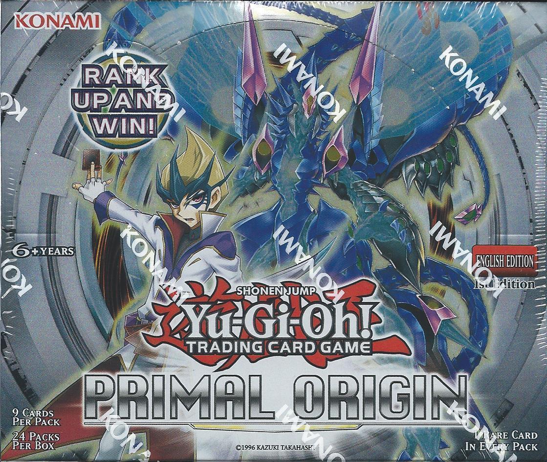 Yu-Gi-Oh  Primal Origins Sealed 1st Edition Booster Box (Yugioh)