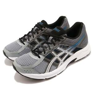 5cad8df73e8 Asics Gel-Contend 4 Grey Silver White Men Running Shoes Sneakers ...