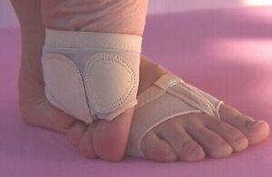 1 Par Nuevo Talla M Desnuda Pie Tangas Bailando lírico Ballet del Reino Unido 3-5