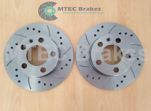 Audi-A3-8L-1996-2003-Rear-Drilled-Grooved-Brake-Discs-232mm