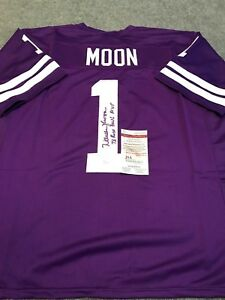 0f16e7abe42 Image is loading WARREN-MOON-AUTOGRAPHED-SIGNED -INSCRIBED-WASHINGTON-HUSKIES-JERSEY-