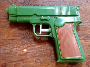 Vielleicht Unbespielt 1970er? Vintage Toy Water Gun Attraktive Designs; Wasserpistole