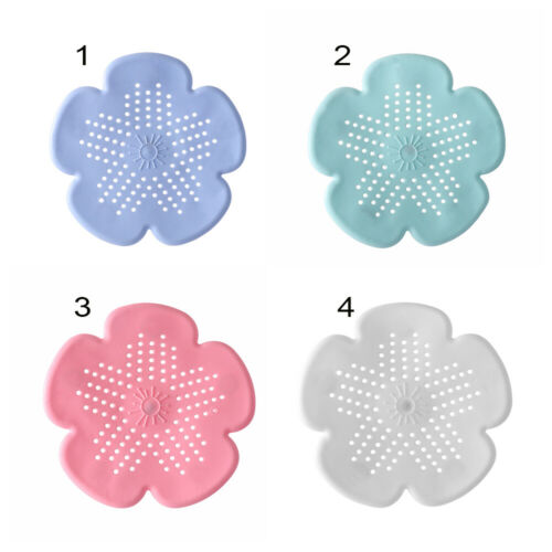 Silicone Bathroom Accessories Drains Cover Hair Filter Colander Sink Strainer