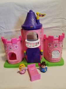 fisher price little people lil kingdom royal castle with prince and