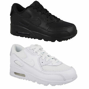 sale retailer da61a 067f9 Nike-Air-Max-90-Leather-Kids-Trainers-Boys-