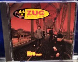 Zug Izland - Fire CD Single rare insane clown posse Violent J rock juggalo icp