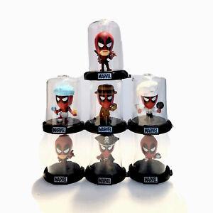 Zag-Toys-Domez-Collectible-Mini-039-s-Deadpool-collectionneurs-Lot-de-7