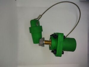 Crouse Hinds E1016 MALE Green CAM-LOK with cover and mounting hardware