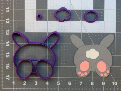 Easter Bunny Butt 266-A676 Cookie Cutter Set