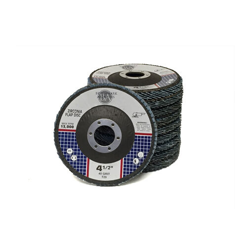 "10 Pack 4.5"" x 7//8/"" Professional Zirconia Flap Disc Sanding Grinding Wheels T29"