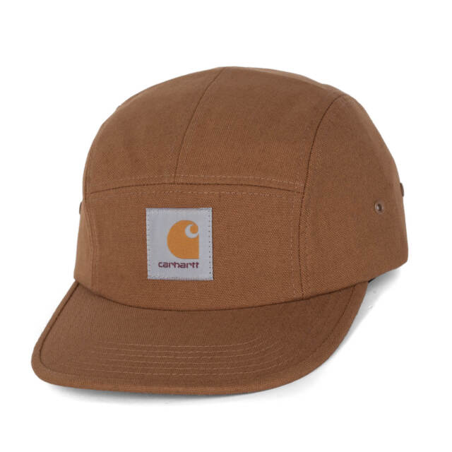 97d81e217b1 Carhartt Wip Backley Cap Hamilton Brown Strapback Cap with Flat Form