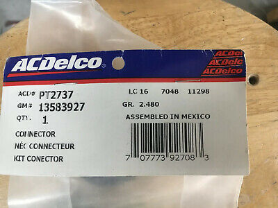 Genuine GM F Connector Kit 13583927 S