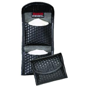 Bianchi 22962 Black Basketweave AccuMold Elite Flat Latex Glove Pouch Fits Two