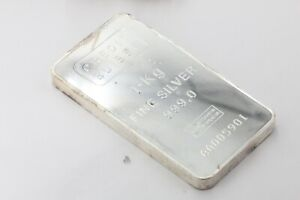 Silberbarren 1kg Credit Suisse Feinsilber 999 Silberbarren 1000g #6